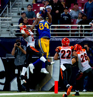 NFL: Cincinnati Bengals at St. Louis Rams